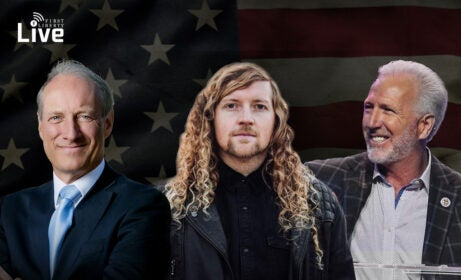 Let Us Worship with Sean Feucht and Greg Fairrington | First Liberty Live!