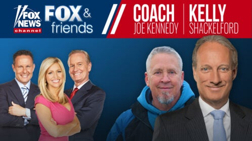 Kelly and Coach Kennedy on Fox News | First Liberty