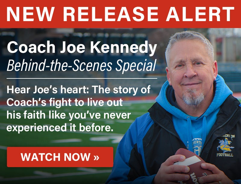 Coach Joe Kennedy | Watch Now | First Liberty Live!