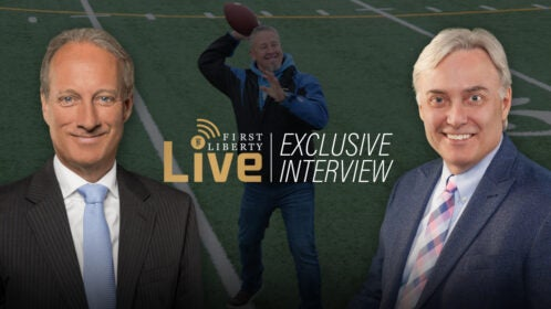 Kelly Interview on Coach Kennedy | First Liberty Live!