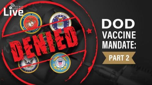 DOD Vaccine Mandate V2